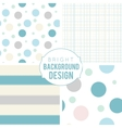 Pretty pastel seamless patterns vector