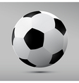Football black and white ball vector