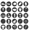 Golf icons design over white background vector