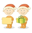 Children santa claus vector