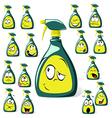Spray bottle cartoon vector