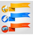 Icons for newsletter vector