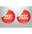 Best choice red label vector