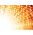 Red yelloe rays light 3d mosaic eps 8 vector