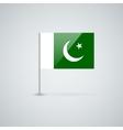 Flag of pakistan vector