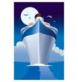 Cruise liner cruise ship vector