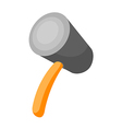 Icon hammer vector