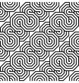 Design seamless monochrome zigzag pattern vector