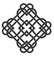 Celtic knot motif vector