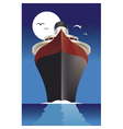 Cruise ship cruise liner vector