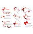 Gift tag cards vector