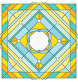 Abstract template in outline style - hipster desig vector