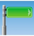 Street road sign vector