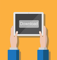 Tablet download small vector