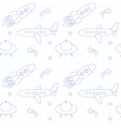Fly background on paper vector