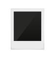Polaroid frame photo vector