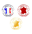 Made in france stamp vector