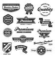 Vintage badges vector