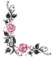 Rose flower love vector