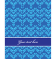 Floral filigree pattern vector
