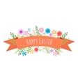Easter spring background vector