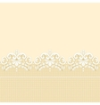 Golden lace border vector