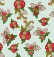 Floral vintage pattern vector