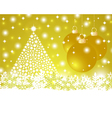 Christmas gold background vector