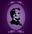 Abraham lincoln abstraction vector