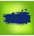 Abstract colorful paint banner vector