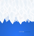 Abstract blue background for design - vector