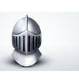Light background knights helmet vector