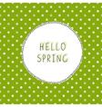 Spring green vector