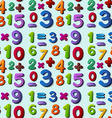 Seamless numbers vector