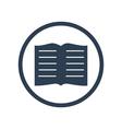 Book flat icon vector