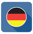 Flat germany icon vector