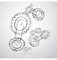 Cogs - gears vector