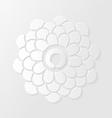 Lotus flower and zen circle vector
