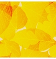 Seamless autumn leaves pattern plus eps10 vector
