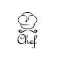Chef design template vector
