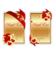 Banner cards vector