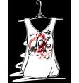 Sketch design t-shirts vector