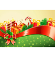 Christmas decorative background vector