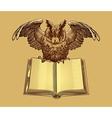 Sova book color vector