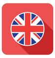 Flat britain icon vector