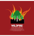 Wildfire vector
