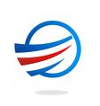Air flow swirl business logo vector