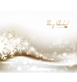 Light christmas background vector