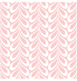 Pink lacy leaves background vector