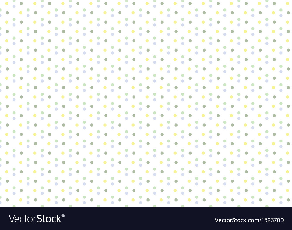 Baby boy pastel polka dots seamless pattern vector | Price: 1 Credit (USD $1)